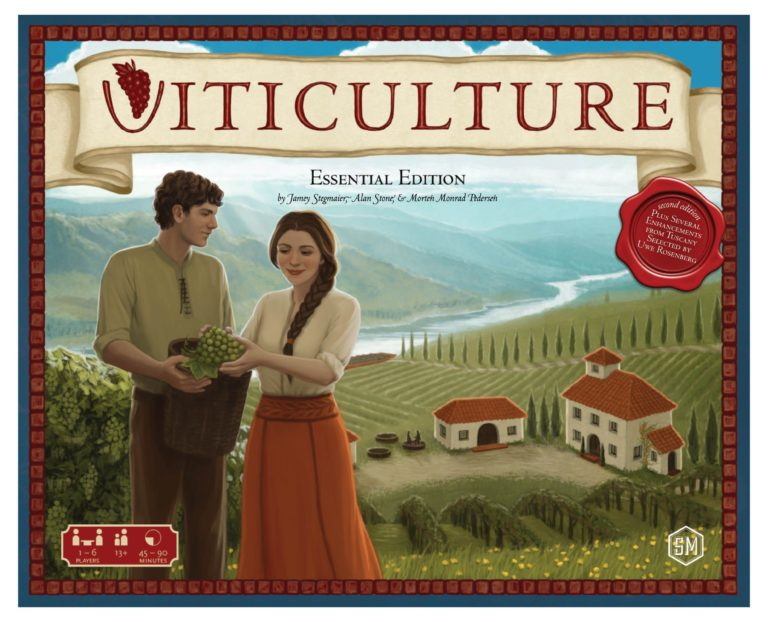 Buy Viticulture Essential Edition only at Bored Game Company.