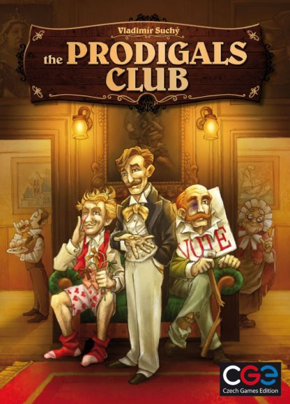 Buy The Prodigals Club only at Bored Game Company.