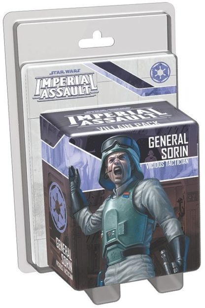 Buy Star Wars: Imperial Assault – General Sorin Villain Pack only at Bored Game Company.