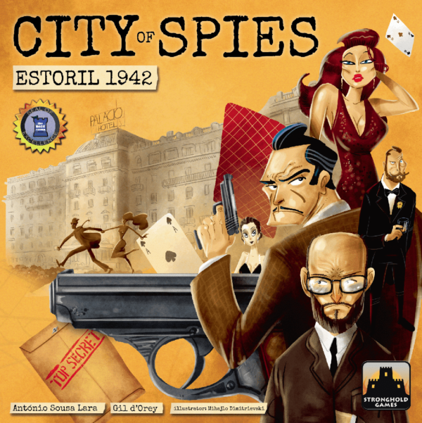 Buy City of Spies: Estoril 1942 only at Bored Game Company.
