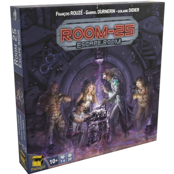 Buy Room 25: Escape Room only at Bored Game Company.