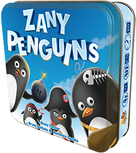 Buy Zany Penguins only at Bored Game Company.