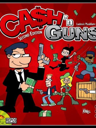 Buy Ca$h 'n Guns (Second Edition) only at Bored Game Company.