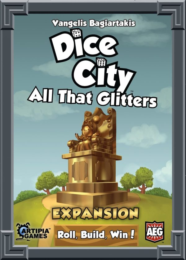 Buy Dice City: All That Glitters only at Bored Game Company.