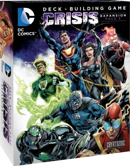 Buy DC Comics Deck-Building Game: Crisis Expansion Pack 3 only at Bored Game Company.