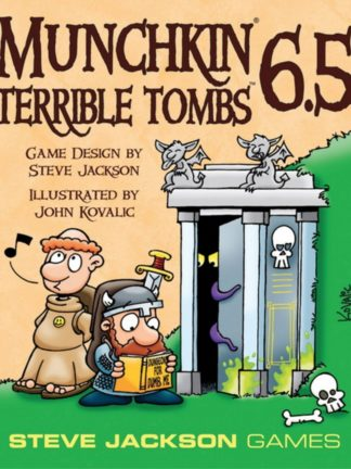 Buy Munchkin 6.5: Terrible Tombs only at Bored Game Company.