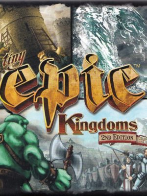 Buy Tiny Epic Kingdoms only at Bored Game Company.