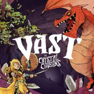 Buy Vast: The Crystal Caverns only at Bored Game Company.