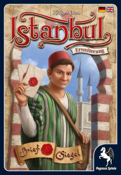 Buy Istanbul: Letters & Seals only at Bored Game Company.