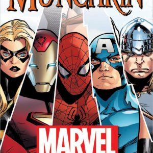 Buy Munchkin Marvel only at Bored Game Company.
