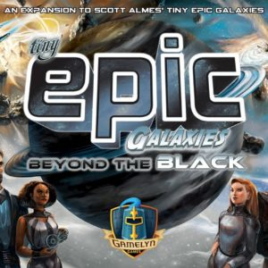 Buy Tiny Epic Galaxies: Beyond the Black only at Bored Game Company.
