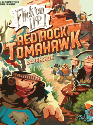 Buy Flick 'em Up!: Red Rock Tomahawk only at Bored Game Company.