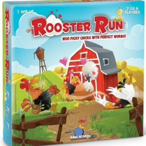 Buy Rooster Run only at Bored Game Company.