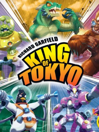 Buy King of Tokyo only at Bored Game Company.