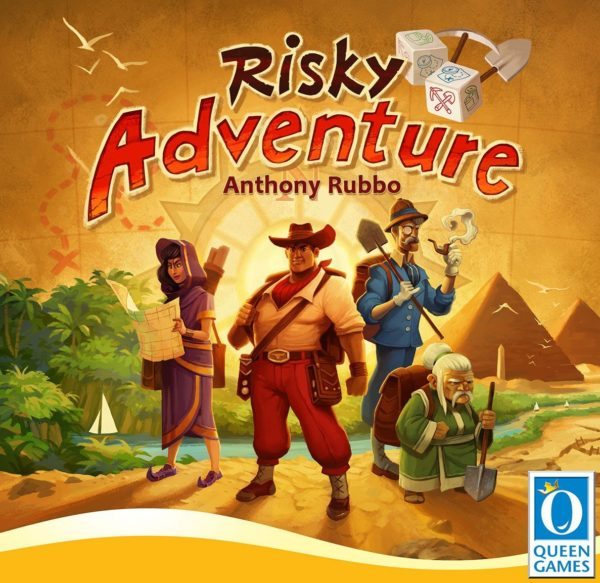 Buy Risky Adventure only at Bored Game Company.