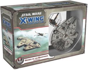 Buy Star Wars: X-Wing Miniatures Game – Heroes of the Resistance Expansion Pack only at Bored Game Company.