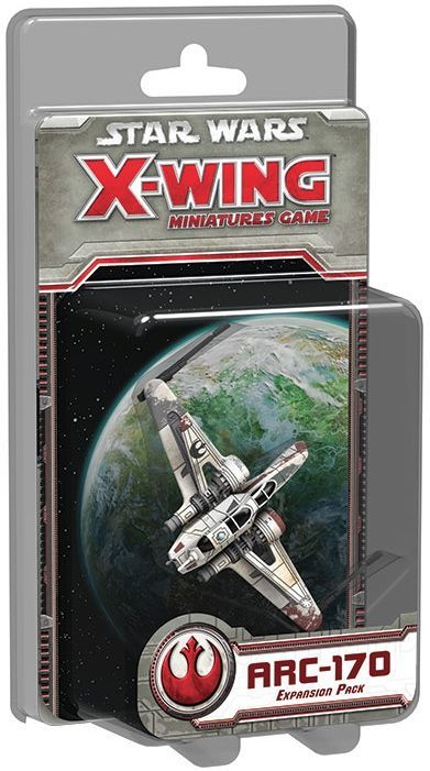 Buy Star Wars: X-Wing Miniatures Game – ARC-170 Expansion Pack only at Bored Game Company.