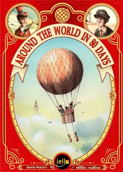 Buy Around the World in 80 Days only at Bored Game Company.