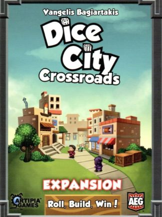 Buy Dice City: Crossroads only at Bored Game Company.
