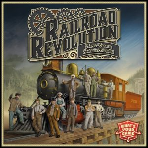 Buy Railroad Revolution only at Bored Game Company.