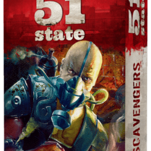 Buy 51st State: Master Set – Scavengers only at Bored Game Company.