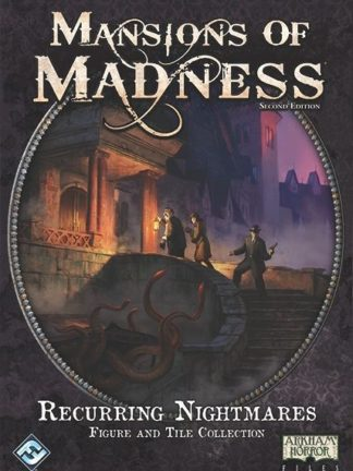 Buy Mansions of Madness: Second Edition – Recurring Nightmares: Figure and Tile Collection only at Bored Game Company.