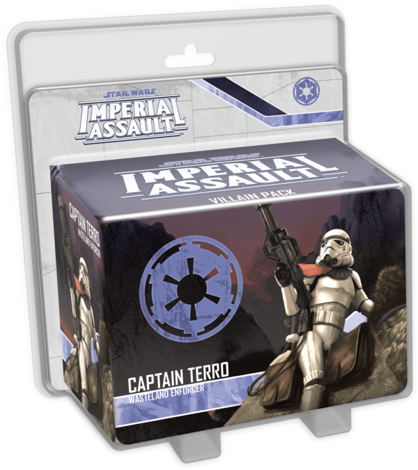 Buy Star Wars: Imperial Assault – Captain Terro Villain Pack only at Bored Game Company.