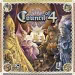 Buy Council of 4 only at Bored Game Company.