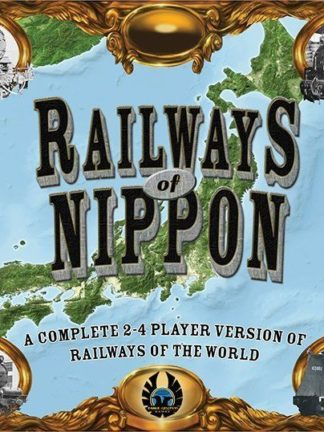 Buy Railways of Nippon only at Bored Game Company.