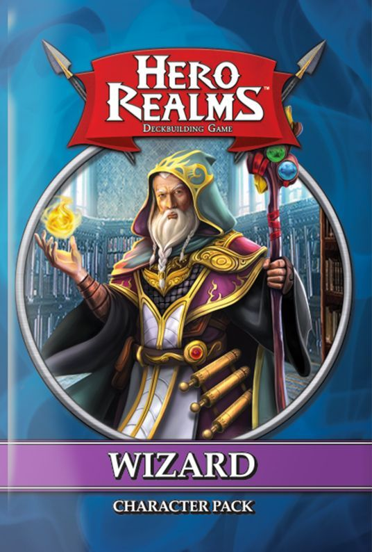 Buy Hero Realms: Character Pack – Wizard only at Bored Game Company.