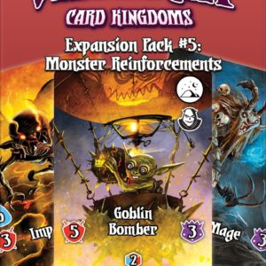 Buy Valeria: Card Kingdoms – Expansion Pack #05: Monster Reinforcements only at Bored Game Company.