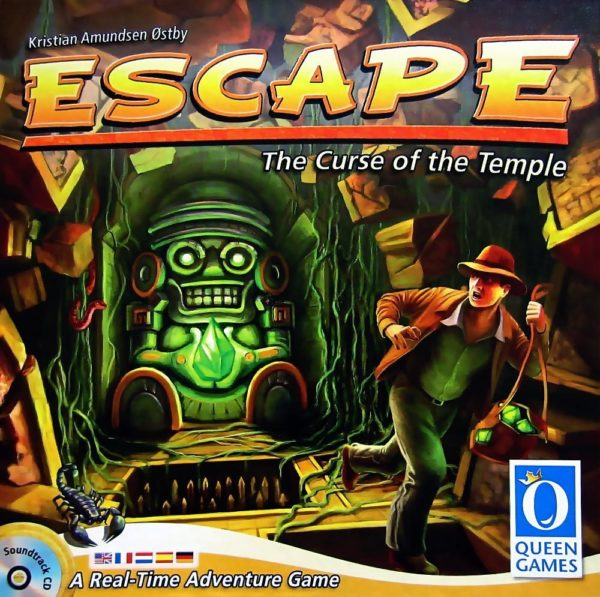 Buy Escape: The Curse of the Temple only at Bored Game Company.