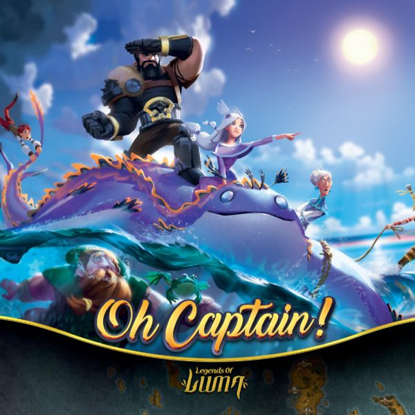 Buy Oh Captain! only at Bored Game Company.