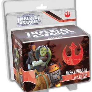 Buy Star Wars: Imperial Assault – Hera Syndulla and C1-10P Ally Pack only at Bored Game Company.