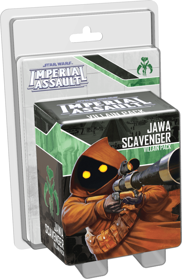 Buy Star Wars: Imperial Assault – Jawa Scavenger Villain Pack only at Bored Game Company.