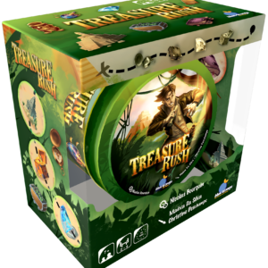 Buy Treasure Rush only at Bored Game Company.