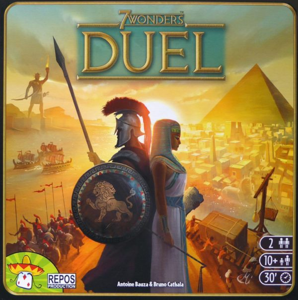 Buy 7 Wonders Duel only at Bored Game Company.
