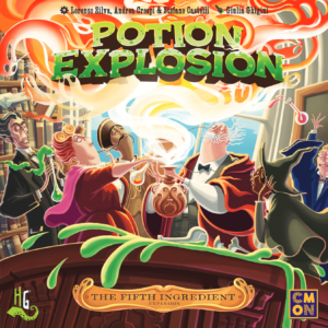 Buy Potion Explosion: The Fifth Ingredient only at Bored Game Company.