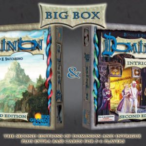 Buy Dominion (Second Edition) Big Box only at Bored Game Company.