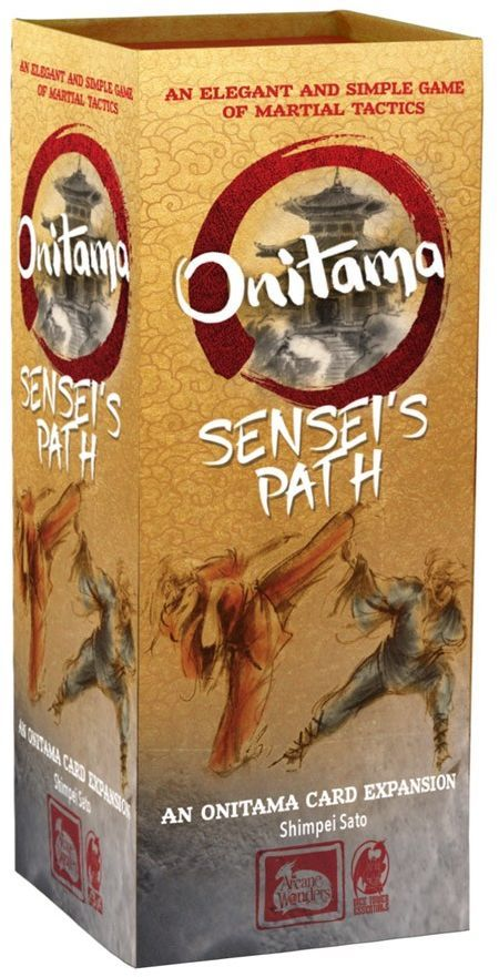 Buy Onitama: Sensei's Path only at Bored Game Company.