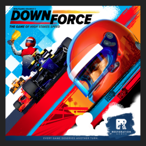 Buy Downforce only at Bored Game Company.