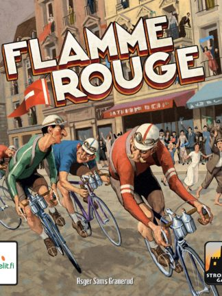 Buy Flamme Rouge only at Bored Game Company.