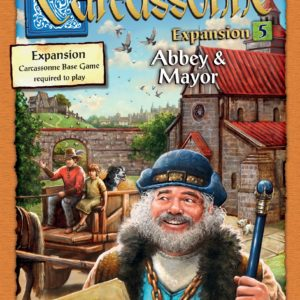 Buy Carcassonne: Expansion 5 – Abbey & Mayor only at Bored Game Company.