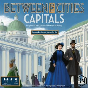 Buy Between Two Cities: Capitals only at Bored Game Company.