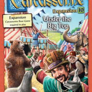 Buy Carcassonne: Expansion 10 – Under the Big Top only at Bored Game Company.