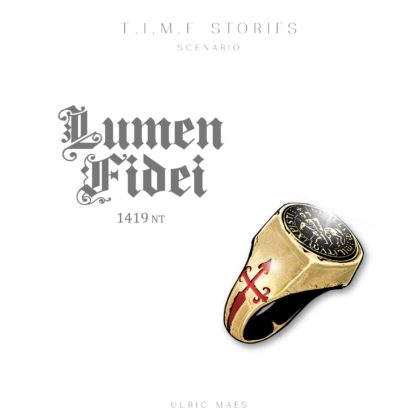 Buy T.I.M.E Stories: Lumen Fidei only at Bored Game Company.