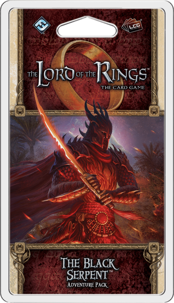 Buy The Lord of the Rings: The Card Game – The Black Serpent only at Bored Game Company.