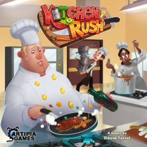 Buy Kitchen Rush only at Bored Game Company.