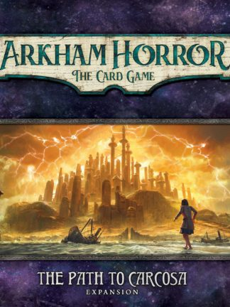Buy Arkham Horror: The Card Game – The Path to Carcosa: Expansion only at Bored Game Company.
