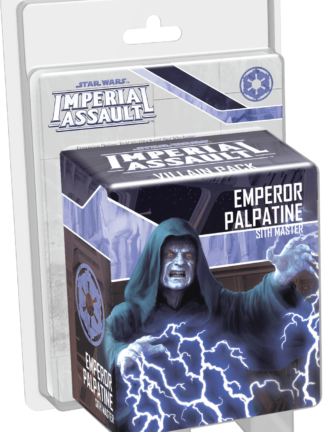 Buy Star Wars: Imperial Assault – Emperor Palpatine Villain Pack only at Bored Game Company.